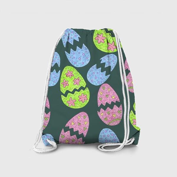 Рюкзак «Узор с пасхальными яйцами»