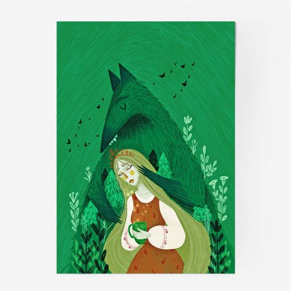 Постер «Твой лес тебя бережёт»