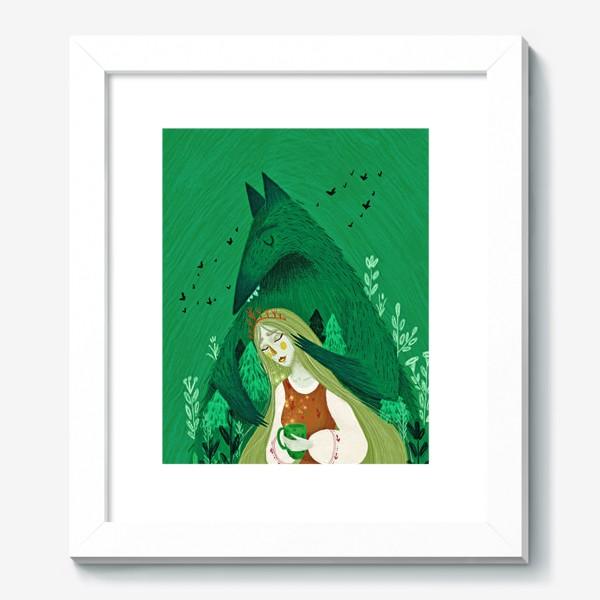 Картина «Твой лес тебя бережёт»