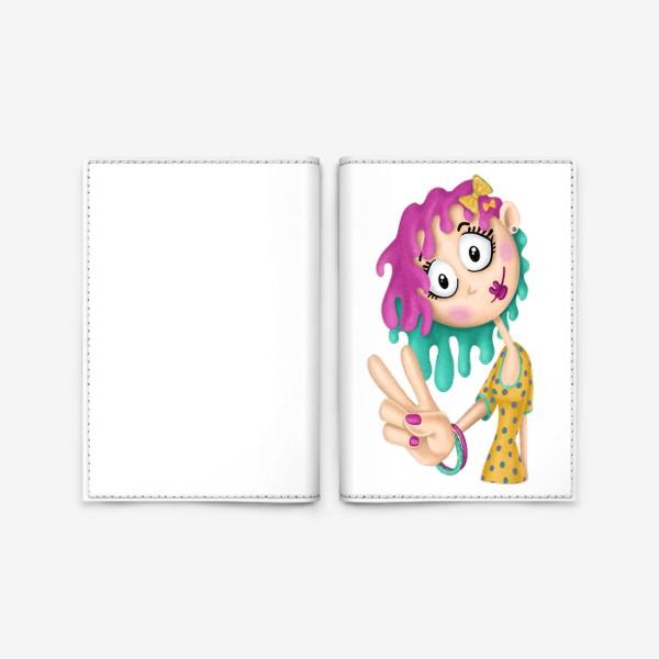 Обложка для паспорта «Hi!»