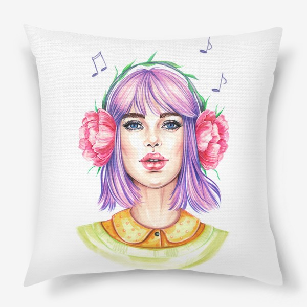 Подушка «Музыка весны»