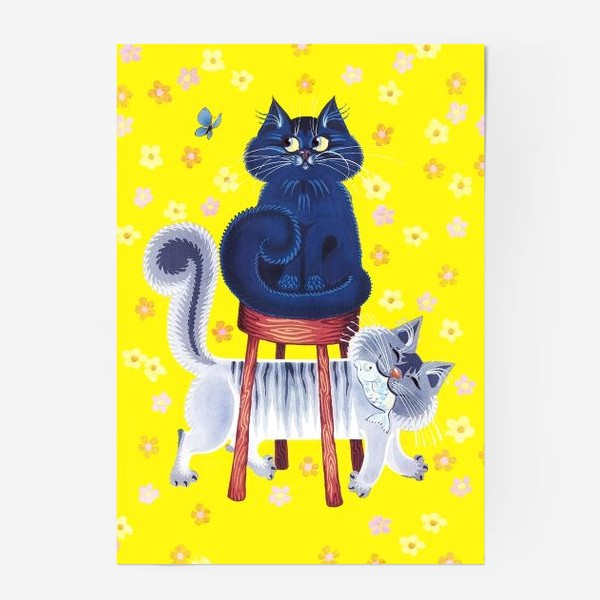 Постер «мои котики»