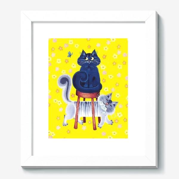 Картина «мои котики»