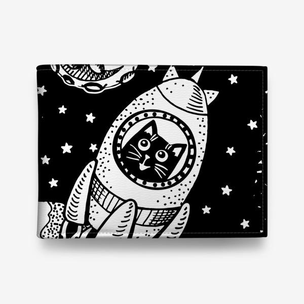 Кошелек «Котик-космонавт»