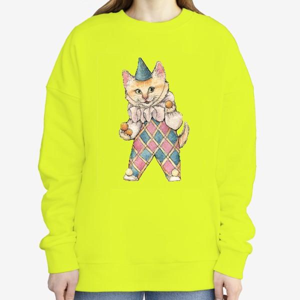 Свитшот «Cat Clown»