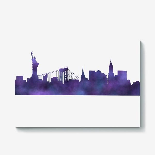 Холст «New York »