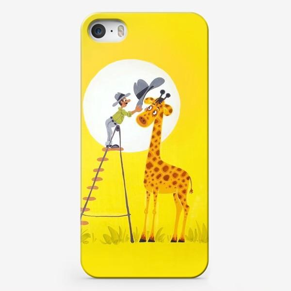 Чехол iPhone «Шляпа для жирафа»