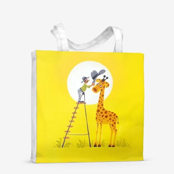 Сумка-шоппер «Шляпа для жирафа»
