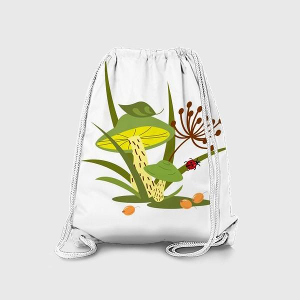 Рюкзак «Лесные грибы»