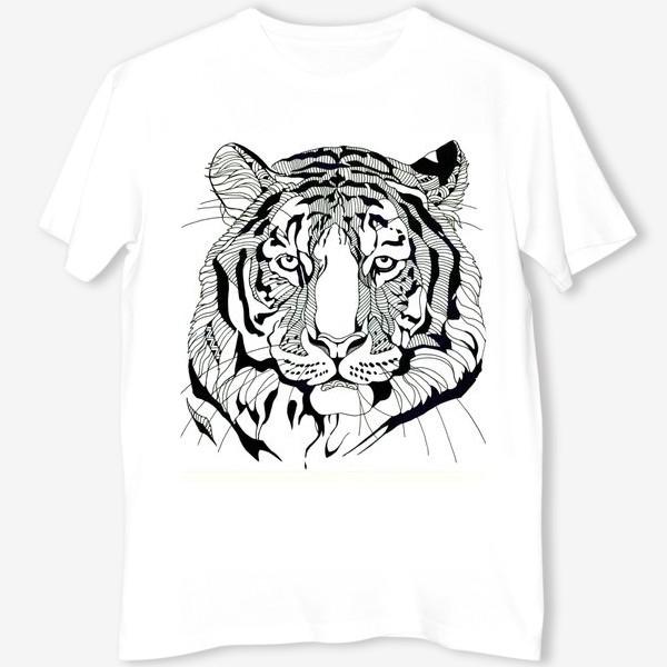 Футболка «Тату-тигр»