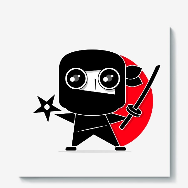 Холст «Ninja»