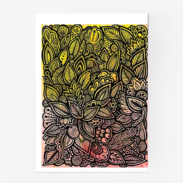Постер «Паттерн, осень»