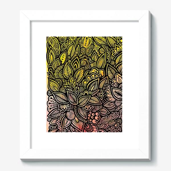 Картина «Паттерн, осень»