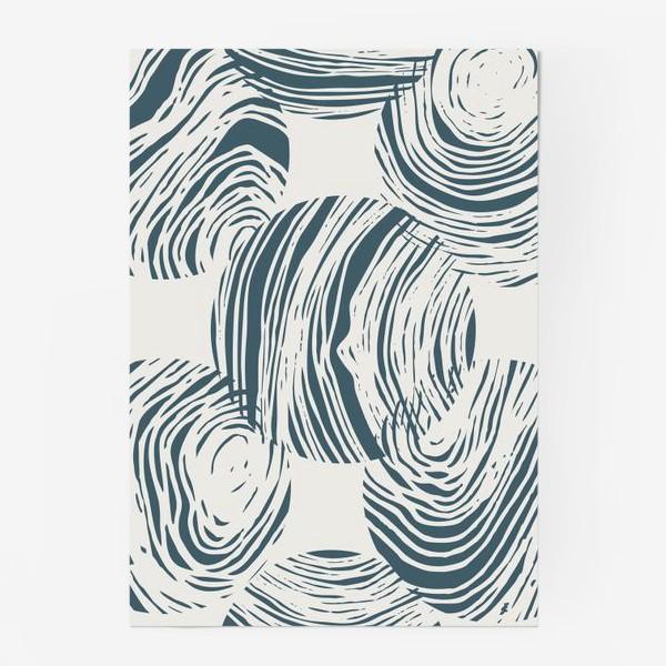 Постер «Абстрактный узор из кругов»