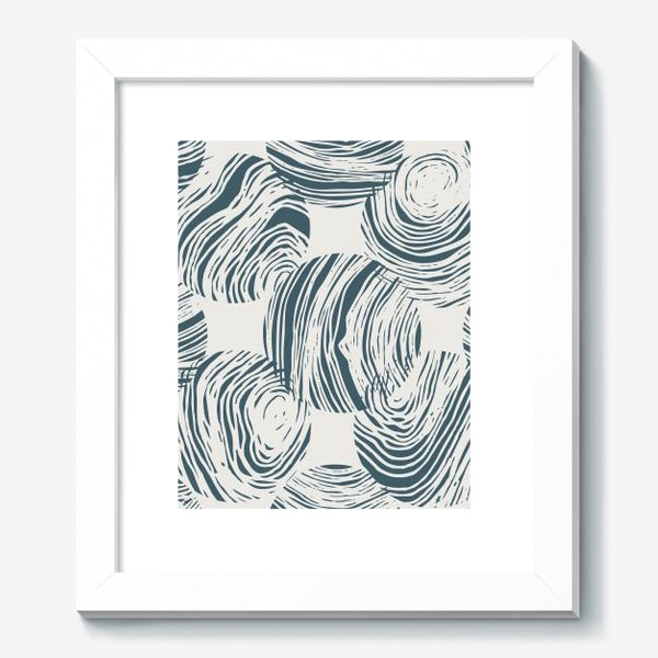 Картина «Абстрактный узор из кругов»
