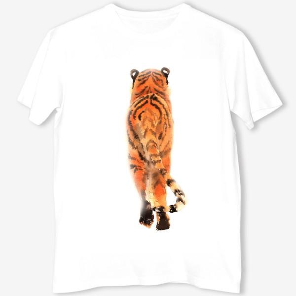 Футболка «Уходящий тигр»