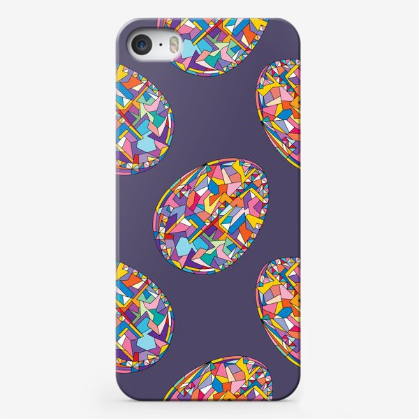 Чехол iPhone «Яйца геометрия»