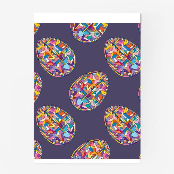 Постер «Яйца геометрия»