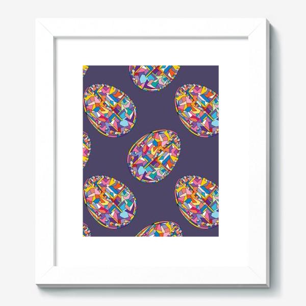 Картина «Яйца геометрия»