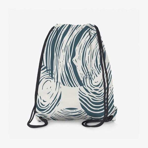 Рюкзак «Абстрактный узор из кругов»