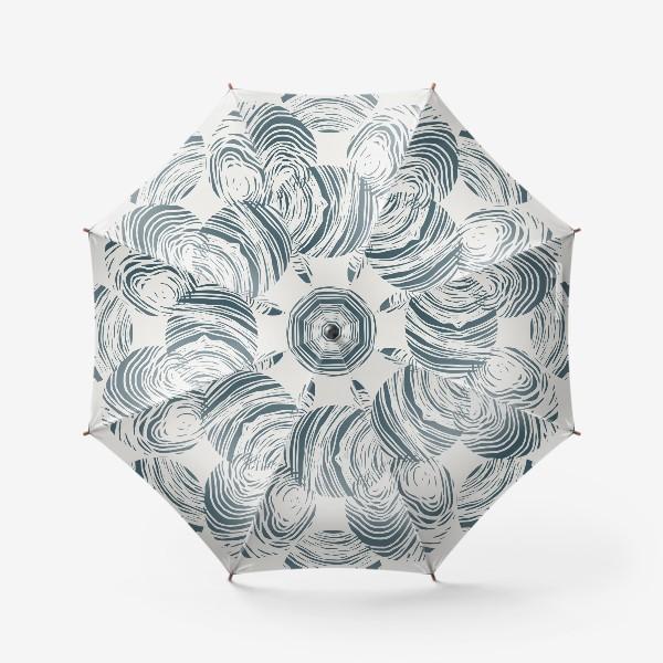 Зонт «Абстрактный узор из кругов»