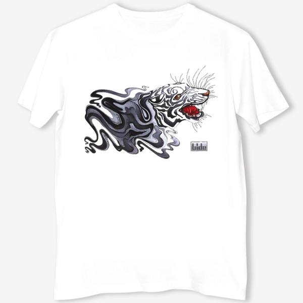 Футболка «Белая Тигрица»