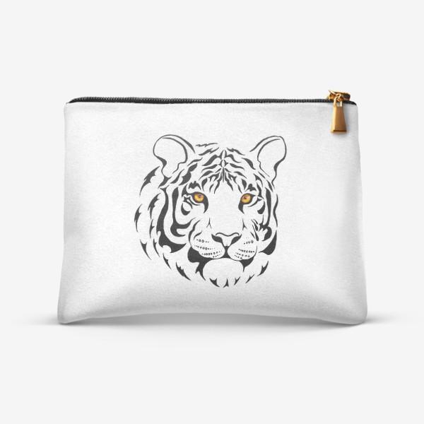 Косметичка «Амурский тигр. Графика»