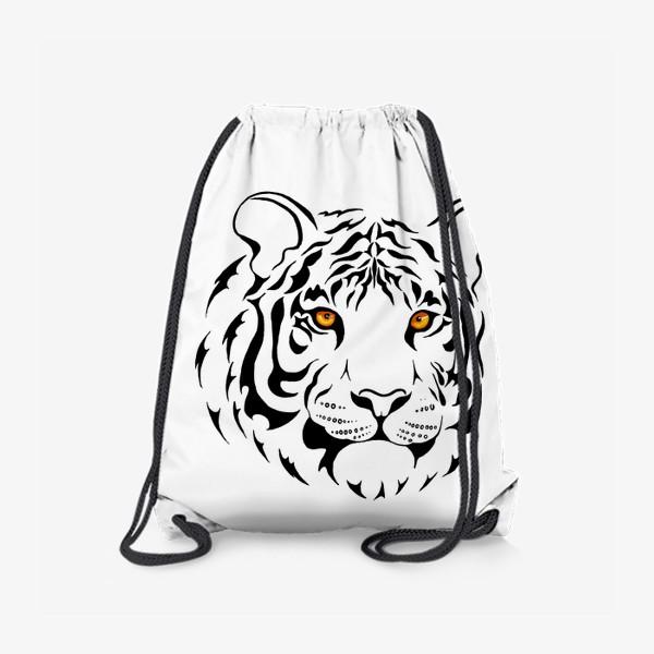 Рюкзак «Амурский тигр. Графика»