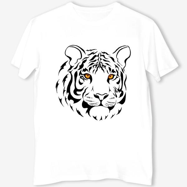 Футболка «Амурский тигр. Графика»