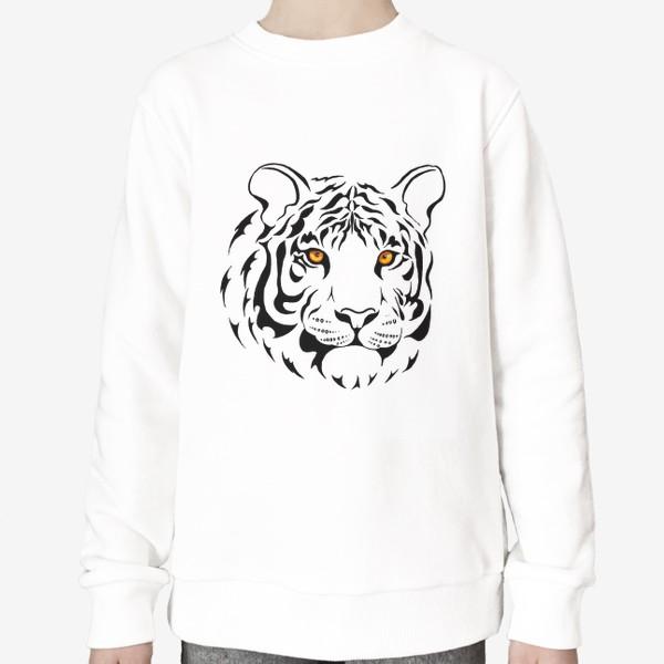 Свитшот «Амурский тигр. Графика»