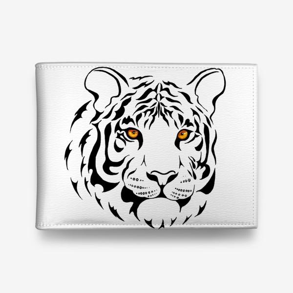 Кошелек «Амурский тигр. Графика»