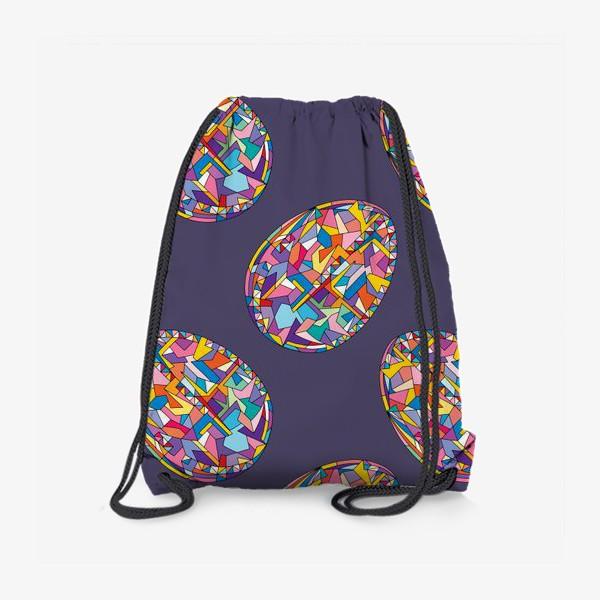 Рюкзак «Яйца геометрия»