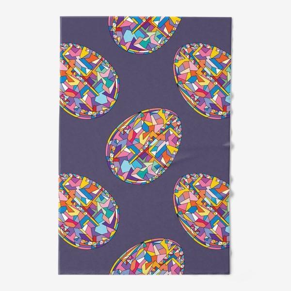 Полотенце «Яйца геометрия»