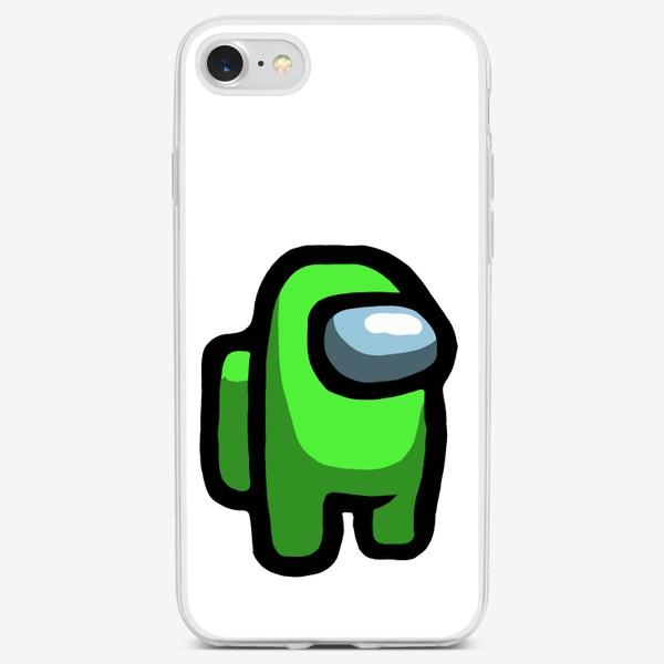 Чехол iPhone «Green Among Us»