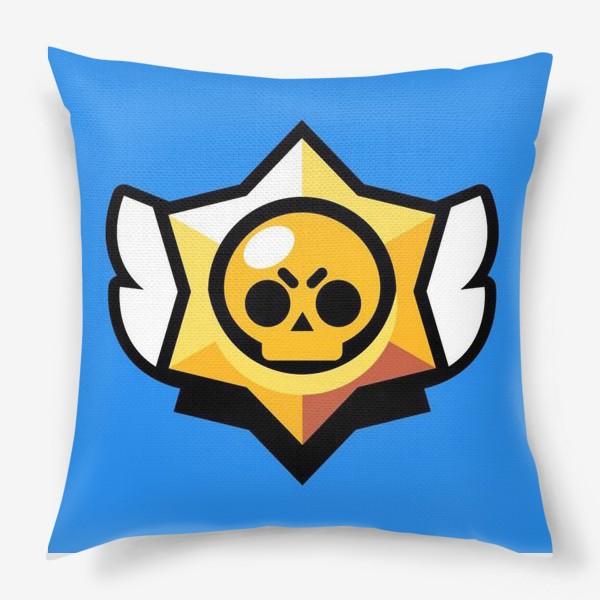 Подушка «Brawl Stars. Лого»