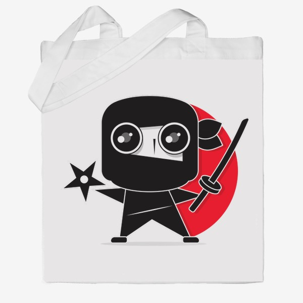 Сумка хб «Ninja»