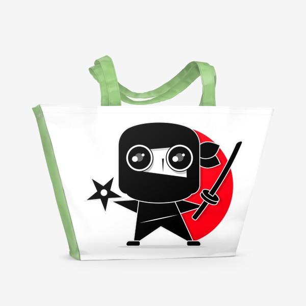 Пляжная сумка «Ninja»