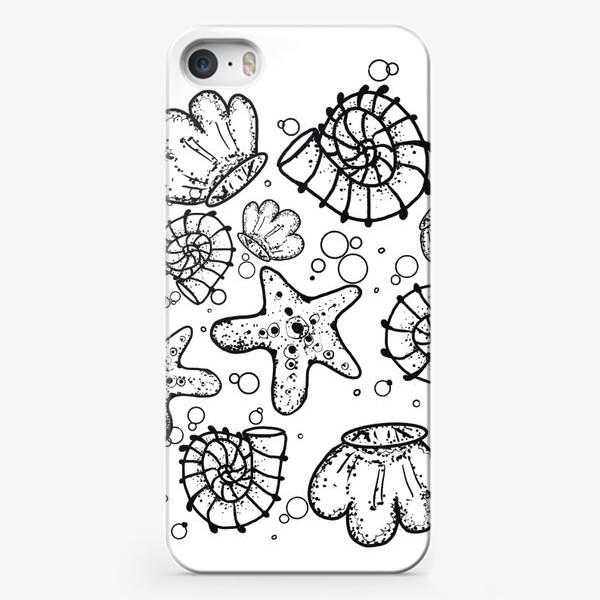 Чехол iPhone «Ракушки »