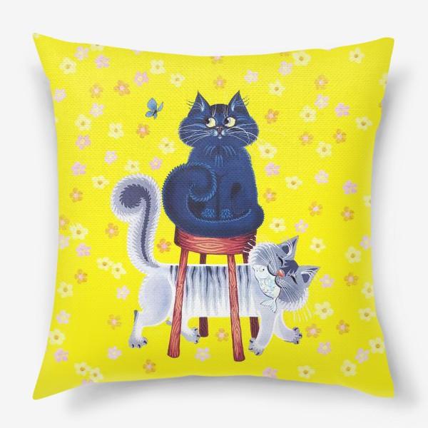 Подушка «мои котики»