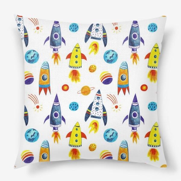 Подушка «День космонавтики»