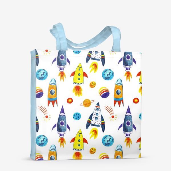 Сумка-шоппер «День космонавтики»