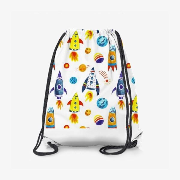 Рюкзак «День космонавтики»
