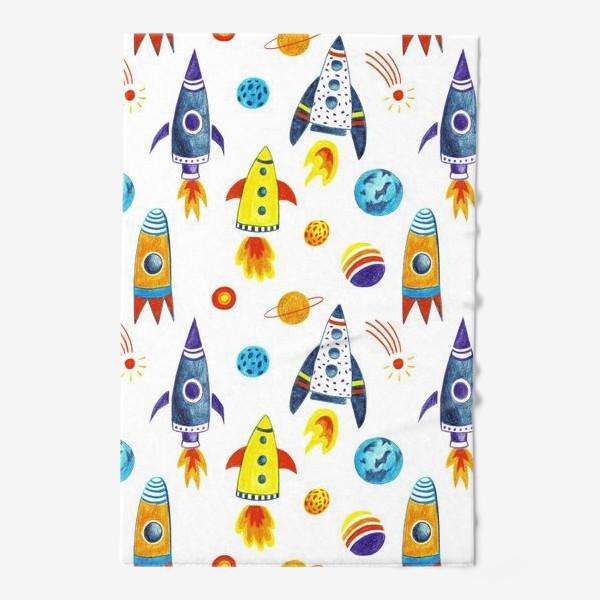 Полотенце «День космонавтики»