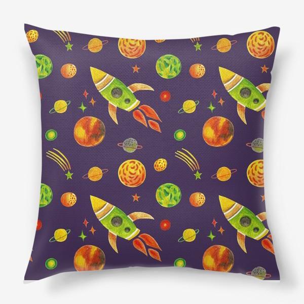 Подушка «Планеты и звезды»