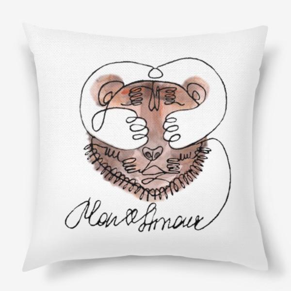 Подушка «Тигр Mon Amour»