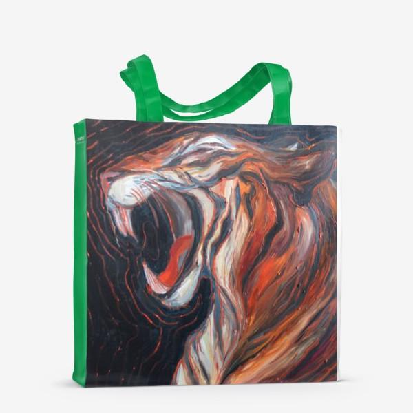 Сумка-шоппер «Hear me roar»