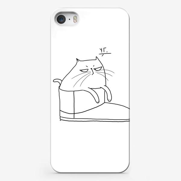 Чехол iPhone «УГ. Угги. Весенний антитренд »