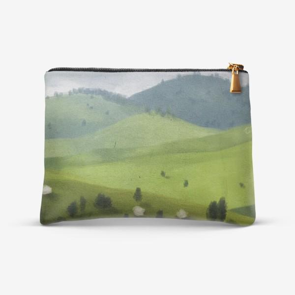 Косметичка «Пейзаж с овцами»