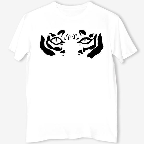 Футболка «Взгляд тигра»
