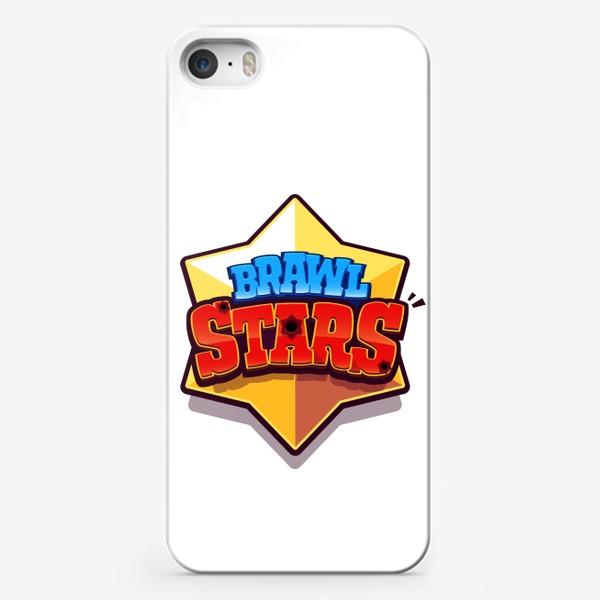 Чехол iPhone «Brawl Stars. Лого 4»